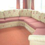 floral corner sofa
